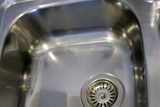 sink scratch removal after