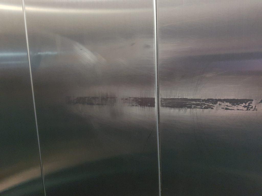 stainless steel repair before